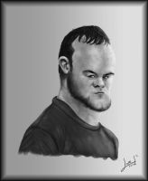 Wayne Rooney by lepeART