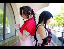 FF7 Cosplay | Which is It? A Memory or us? by CosplayInABox