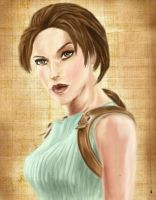 Lara Croft by KathyRose