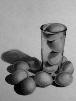 Glass of eggs by RandyS01