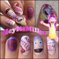 HeyItsMilly nails by Ninails
