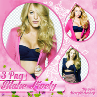 PNG Pack (10) Blake Lively by IremAkbas