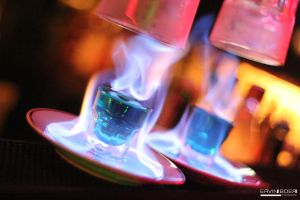 Absinth on flames by ervin21