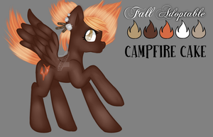 [OPEN OTA] Campfire Cake by Bolties