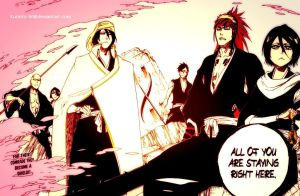Bleach 585 - An Impenetrable Shield by Kurinto-W
