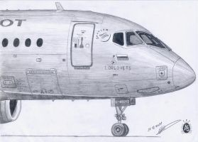 Sukhoi Superjet 100 by GrafDeWolfGuN