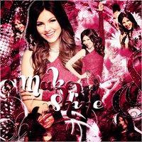 +Blend Victoria Justice by RosiiEditions