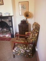 Floral chair by LuchareStock
