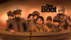 Das Boot - Anime Version by Anomonny