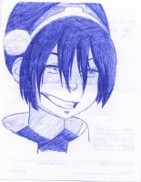 Toph Sketch by Odysseus-of-Ithaki