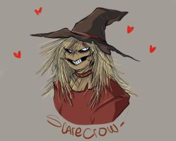 Scarecrow - Batman animated series by 0Lau-Chan0