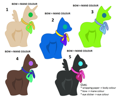 Pony Packets - surprise MLP adopts SET 2 by EwyAdopts