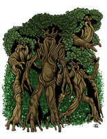 Treant Grove by ProdigyDuck