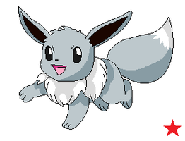 Eevee OC: Sparkle by Cocoafox895