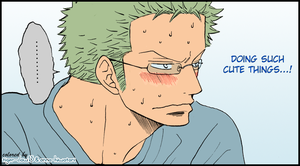 Zoro coloring, no,number2 by AnnaHiwatari