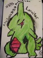 Larvitar [Colored] by sephiroth1204