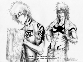 BLEACH: Bad boys --Oh Hello ladies by blackstorm