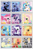 badges - FiM cuties UPDATE by dizziness