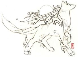 Star Okami Concept 2 by strawberryfruitpoop