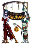 Happy Halloween from Undying by Azizla