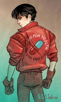 Kaneda by CrystalCurtisArt
