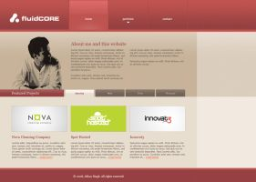 fluidCORE Website Draft 1 by AbhaySingh1