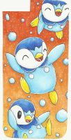 Piplup/ Plinfa - Iphone 6 Phone Case by sellyluvsart