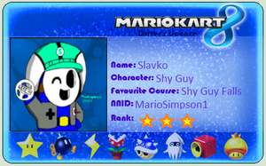 My MK8 License by MarioSimpson1