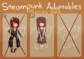 Adoptables  Steampunk 1 [CLOSED] by MintyChipLuv