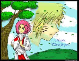 Sakura - Hokage In Your Place by 4-ever-gaaras
