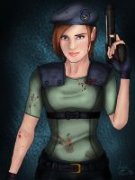 Jill Valentine by Lydia-Burns