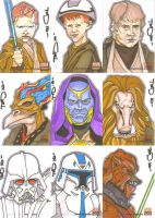 Star Wars Galaxy 5 batch 7 by NORVANDELL