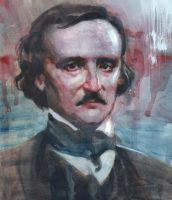 Edgar Allan Poe by JosefRubinstein