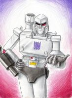 February: Megatron by Mistress-D