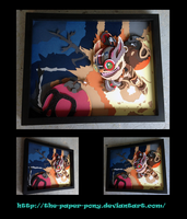 League of Legends Ziggs Shadowbox by The-Paper-Pony