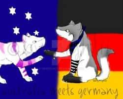 australia meets germany by nessylucy