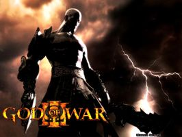 God of War 3 Wallpaper by dzilo