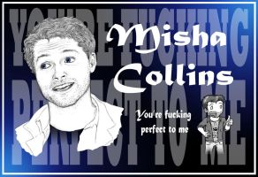 We Love Misha Collins by blackbirdrose