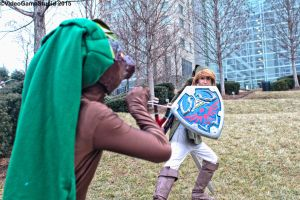 Katsucon 2015 - Zelda May Cry(PS) 06 by VideoGameStupid