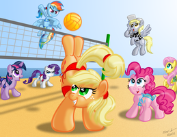 Brony Thank-You Fund 2013 Calendar - August by AleximusPrime