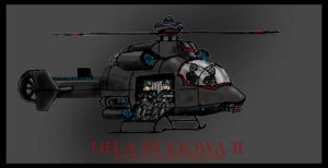 Kiowa II Tactical Assault Helicopter by Andared