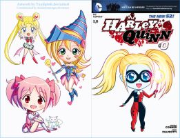 Harley Quinn Cover (Commission for Dannimon) by yuukipink