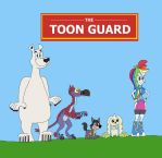 The Toon Guard Poster by HunterxColleen