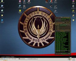 My desktop at the moment by Tensen01