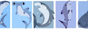 Sharks by ennemme