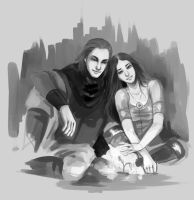 Commission: Kiira and Devin by fee-absinthe