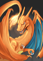 Charizard by shuuheei