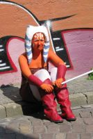 Ahsoka Tano costume 2 by Troopergirl