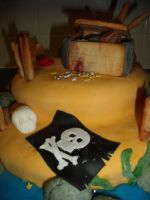 Pirate Island Cake 13 by BevisMusson