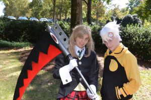 Maka and Soul by MouseyCosplay